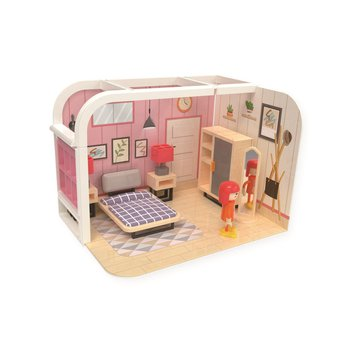 Joueco - Domek dla lalek SYPIALNIA