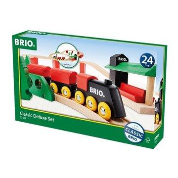 BRIO World Zestaw Kolejki Deluxe Classic