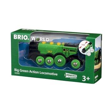 BRIO World Wielka Zielona Lokomotywa