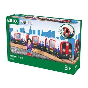 BRIO World Metro – Światła i Dźwięk