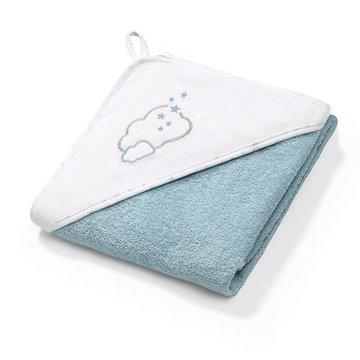 BABYONO - 142/09 Okrycie kąpielowe frotte - ręcznik z kapturkiem 100x100cm