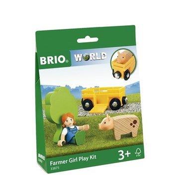 BRIO World Zestaw do Zabawy Farmerka