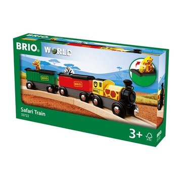 BRIO World Drewniany Pociąg Safari