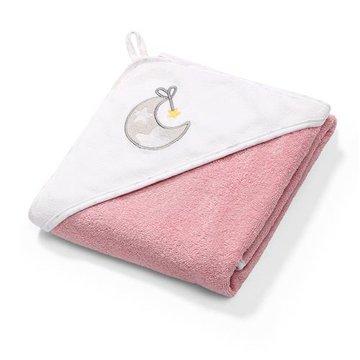 BABYONO - 142/10 Okrycie kąpielowe frotte - ręcznik z kapturkiem 100x100cm