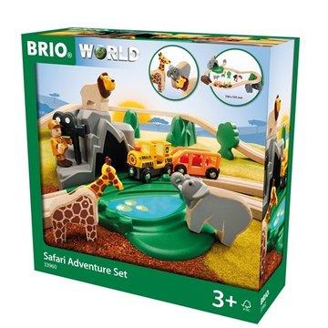 BRIO World Kolejka Drewniana Safari