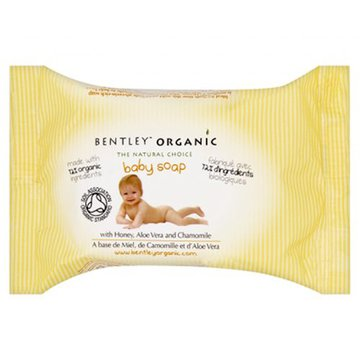 Bentley Organic, Dziecięce Mydełko z Miodem, Aloesem i Rumiankiem 100% Naturalne, 125 g BENTLEY ORGANIC
