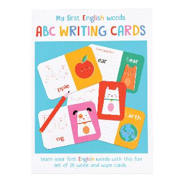 Karty do pisania, ABC Moje pierwsze angielskie słowa, Rex London