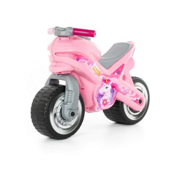 WADER-POLESIE - Jeździk motor różowy