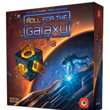 Portal Games - Gra Roll for The Galaxy (2ed. PL)