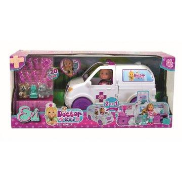 Simba - Lalka Doktor Evi Ambulans 2w1