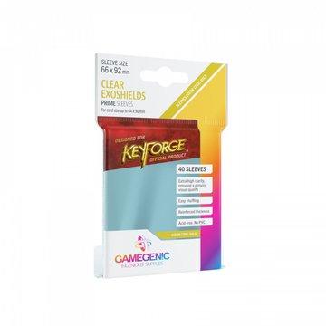 Gamegenic - Koszulki na karty KeyForge Exoshield 40 sztuk