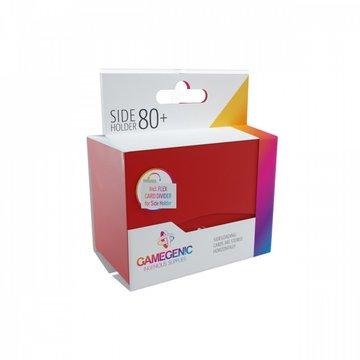 Gamegenic - Pudełko Leżące Plastikowe na 80+ kart Czerwone