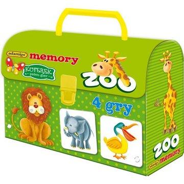 Adamigo - Gra Kuferek Zoo Memory