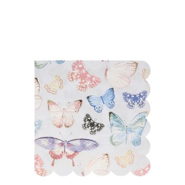 Meri Meri - Serwetki Motyle