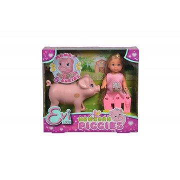 Simba - Lalka Evi Love z ciężarną świnką