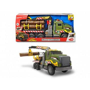 Dickie - Pojazd  Leśny Gigant z funkcją światła i dźwięku City