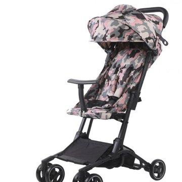Tesoro - Wózek spacerowy S900 Różowy kamuflaż