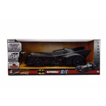 Dickie - Pojazd Batman RC 1989 Batmobile