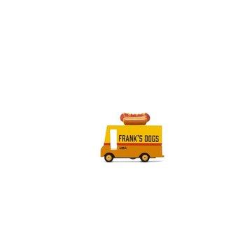Candylab Drewniany Samochód Hot Dog Van