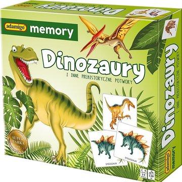 Adamigo - Gra Memory Dinozaury