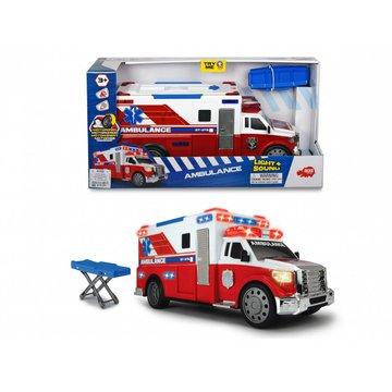 Dickie - Pojazd A.S. Ambulans, 33 cm