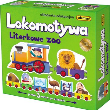 Adamigo - Lokomotywa - Literkowe ZOO