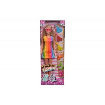 Simba - Lalka Steffi Tęczowa moda
