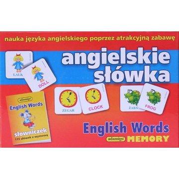 Adamigo - Gra Memory Angielskie Słówka