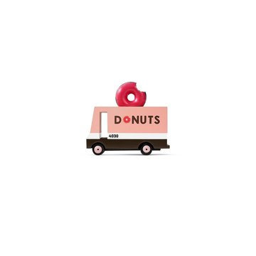 Candylab Drewniany Samochód Donut Van