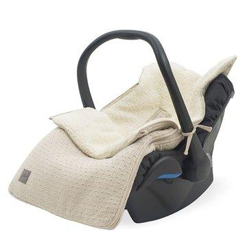 Jollein - Baby & Kids - Jollein - Śpiworek oddychający do wózka i fotelika Bliss Knit NOUGAT