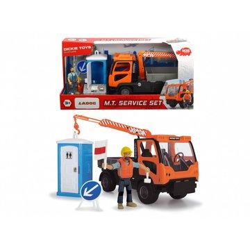 Dickie - Pojazd Play Life Zestaw sanitarny 21,5 cm