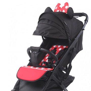 Tesoro - Wózek spacerowy S600 Minni Czerwony