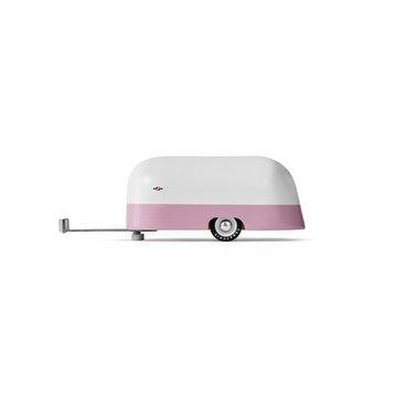 Candylab Drewniana Przyczepa Pink Camper
