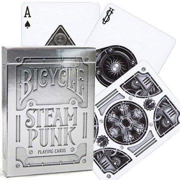 Bicycle - Karty Silver SteamPunk Premium