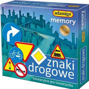 Adamigo - Gra memory Znaki drogowe