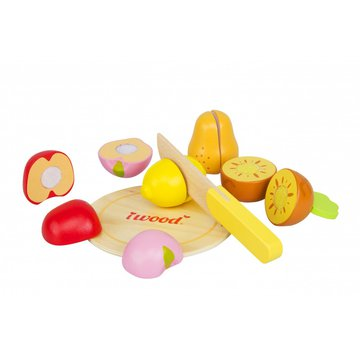 iWood - Drewniane owoce do krojenia