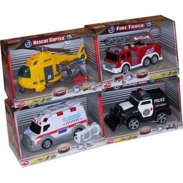 Dickie - Małe pojazdy ratunkowe 4 rodz.