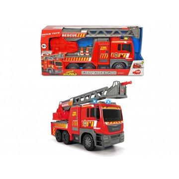 Dickie - Pojazd SOS Straż pożarna MAN, 5 4 cm