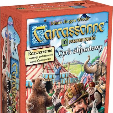 Bard - Gra Carcassonne PL 10. Cyrk objazdowy, Edycja 2