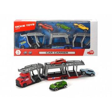 Dickie - Laweta z 3 samochodami, 2 rodzaje