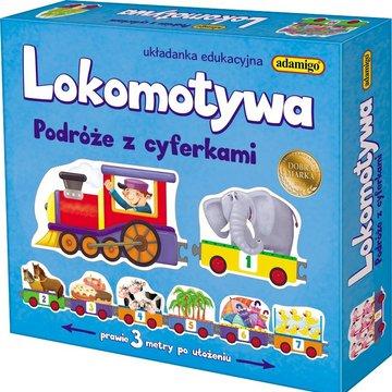 Adamigo - Lokomotywa - podróże z cyferkami