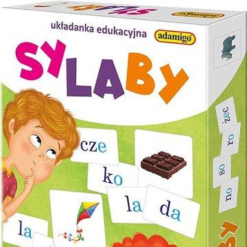 Adamigo - Sylaby układanka edukacyjna