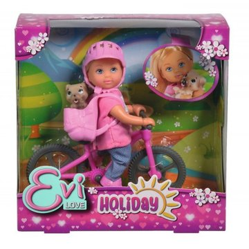 Simba - Lalka Evi na rowerze górskim