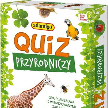 Adamigo - Quiz przyrodniczy Gra edukacyjna