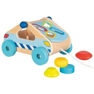 Goki® - Samochód-sorter do ciągnięcia, Goki