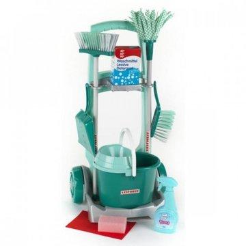 Klein - Wózek do sprzątania Leifheit z akcesoriami