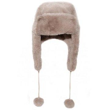 Rockahula Kids - czapka zimowa futerko Teddy Fur Brown 7 - 10 lat