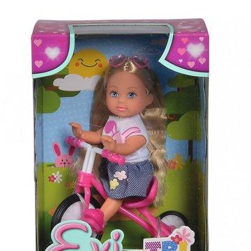 Simba - Lalka Evi Love  na trójkołowym rowerku
