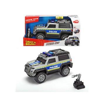 Dickie - Auto Policja SUV srebrny 30 cm