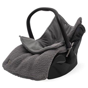 Jollein - Baby & Kids - Jollein - śpiworek do wózka i fotelika Teddy STORM GREY
